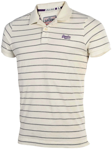Superdry Men's Classic Striped Polo Shirt