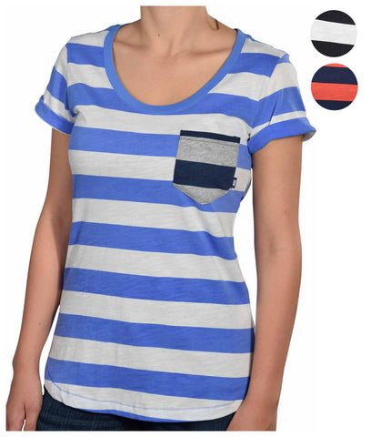 Nike Women's Striped Casual Shirt With Pocket