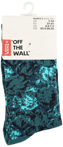 Vans Women's Off The Wall Digital Camo Crew Socks