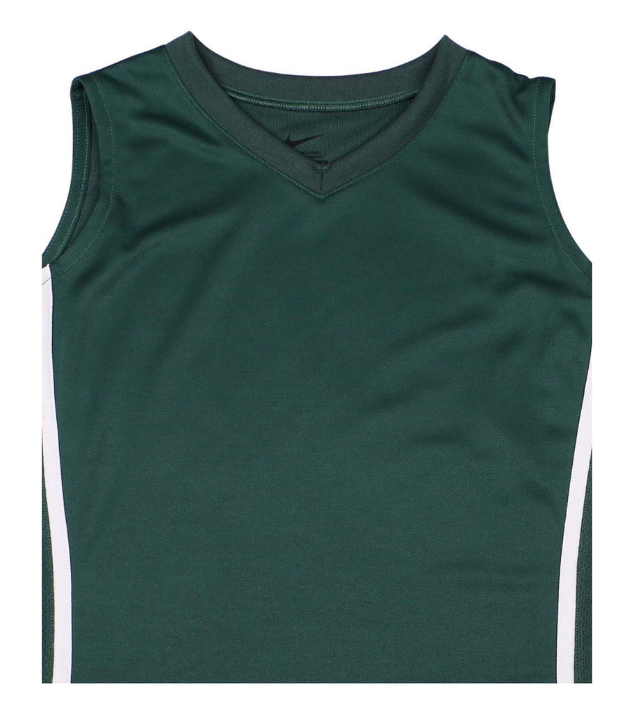 Nike Big Girls' (7-16) Front Court Basketball Jersey-Green