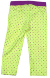 Nike Big Girls' (7-16) Pro Printed Training Capris-Yellow