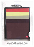Skullcandy Wrap iPad Snap Back Folio 3rd Generation Cover Case-Muilti-color