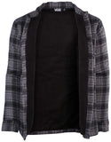 Vans Men's Off The Wall Jetsetting Lightweight Jacket-Black/Grey