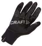 Craft Keep Warm Cycling Bike Bicycle Storm Gloves-Black