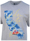 Quiksilver Men's Golden State Of Mind Graphic T-Shirt-Heather Gray