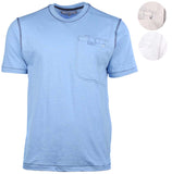 PD&C Men's Button Pocket Casual T-Shirt