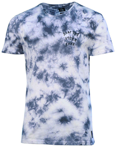 Quiksilver Men's Death Can Wait Tie Dye T-Shirt-Tie Dye