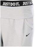 Nike Big Girls' Dri-Fit (7-16) Obsessed Training Capris-Wolf Grey
