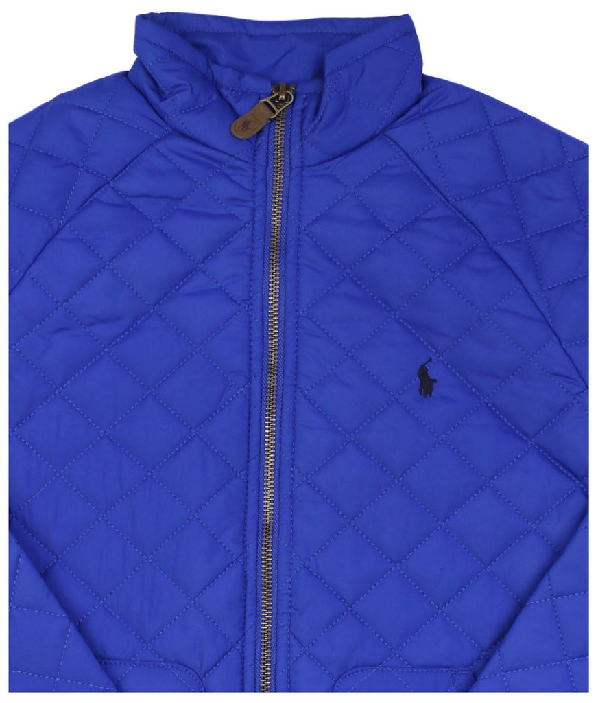 Polo RL Girls (7-16) Quilted Jacket-Pac Royal