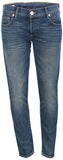 True Religion Women's Live Low Rise Relaxed Skinny Denim Jeans-Cuym Blue Z