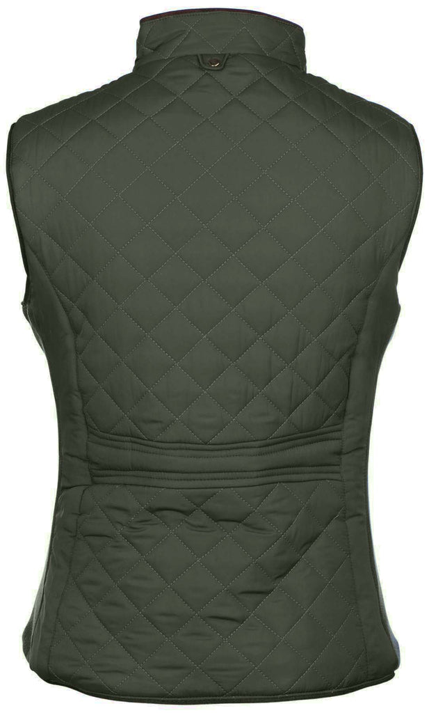 True Rock Jr Women's Carol Quilted Full Zip Vest