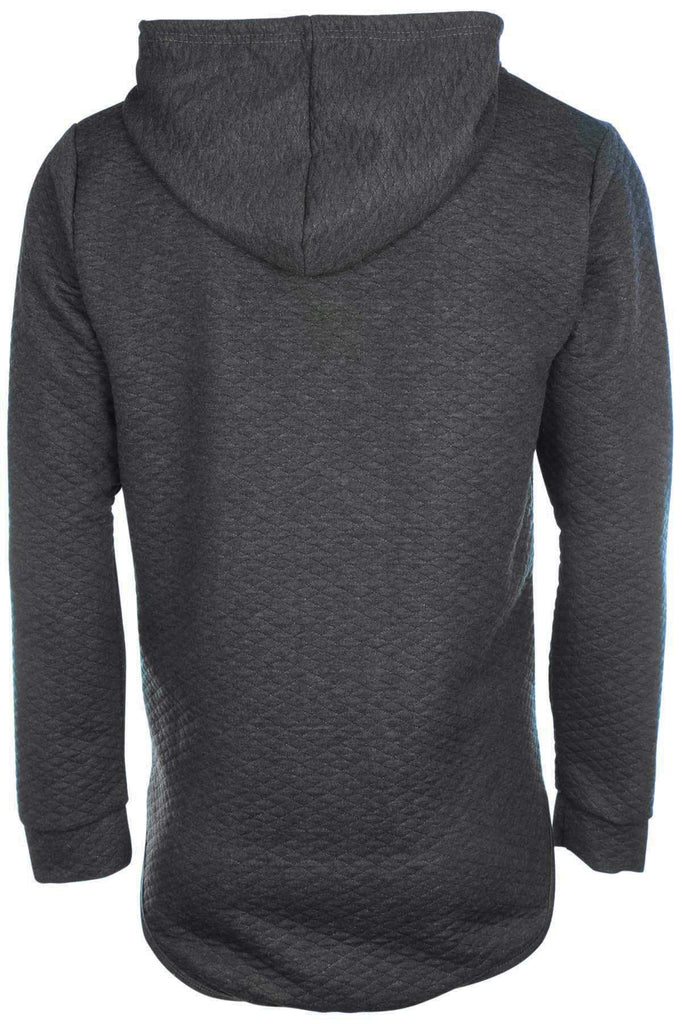 True Rock Men's Textured Pullover Hoodie