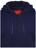 Maximos Men's Fully Lined Full Zip Hoodie