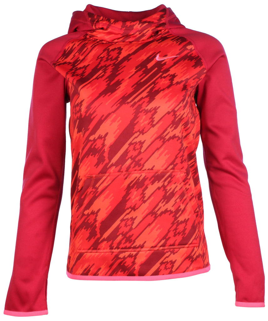 9495b1ee89d3 Nike Big Girls  (7-16) Therma-Fit Training Pullover Hoodie-Red – Webzom