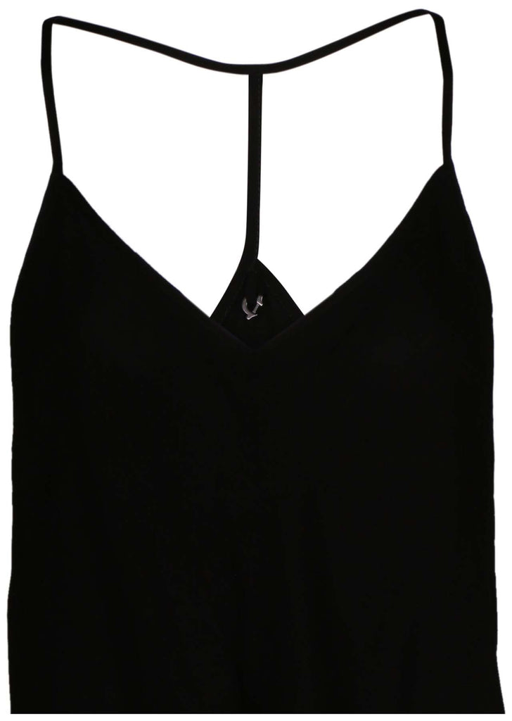 True Religion Women's Flowy Camisole-Black