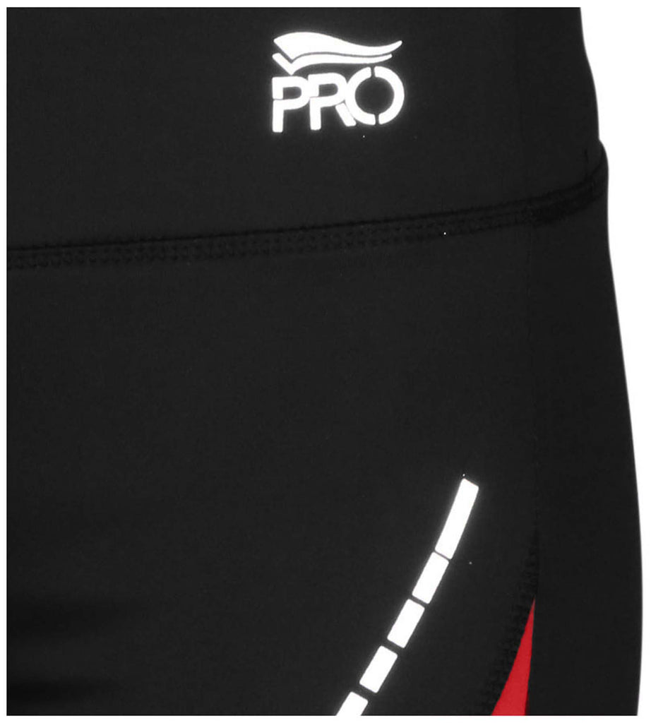 Crivit Pro Women's Performance Active Running Shorts-Black/Red
