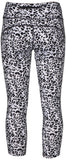Nike Women's Dri-Fit Lotus Epic Running Crop Leggings-Black/Gray