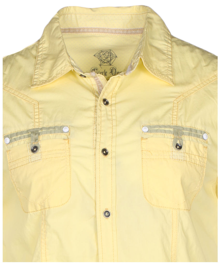 Circle One Men's Short Sleeve Casual Button Down Shirt