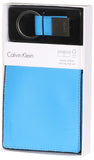 Calvin Klein Men's Leather Bifold Wallet and Key Fob Set