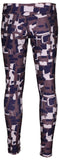 Nike Big Girls' (7-16) Dri-Fit Allover Print Tights-Purple Shade
