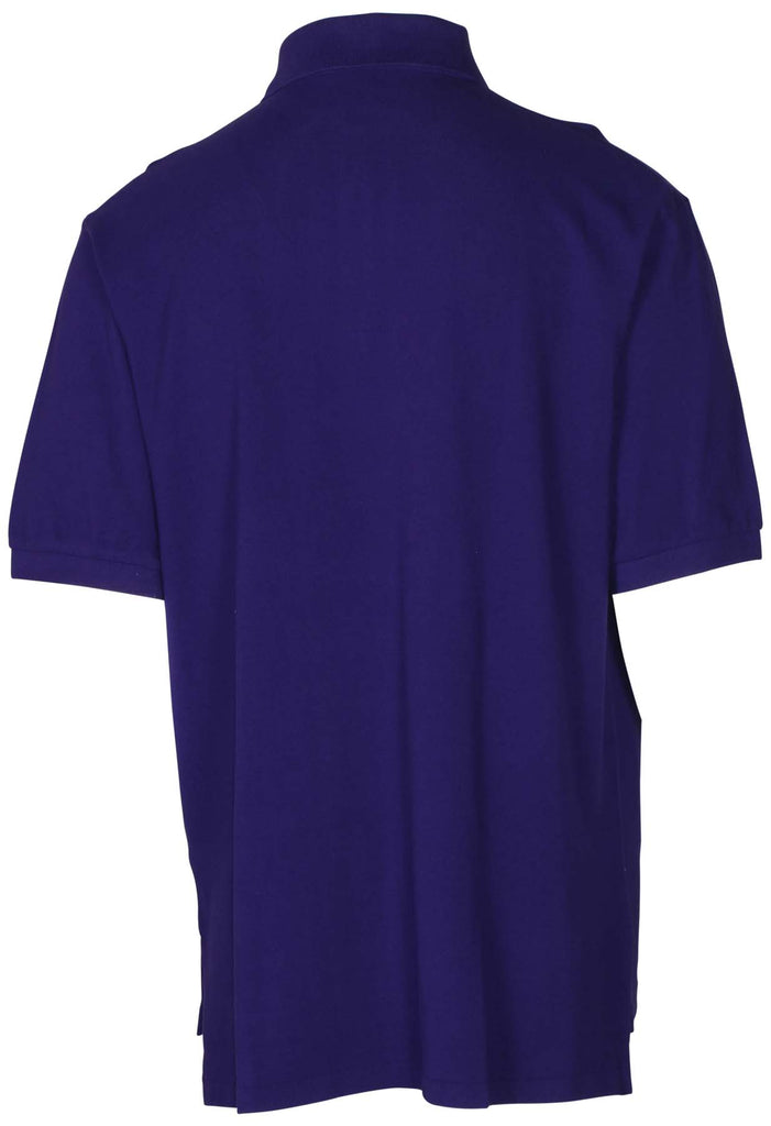 Polo Ralph Lauren Men's Big & Tall Mesh Pony Polo Shirt-Purple