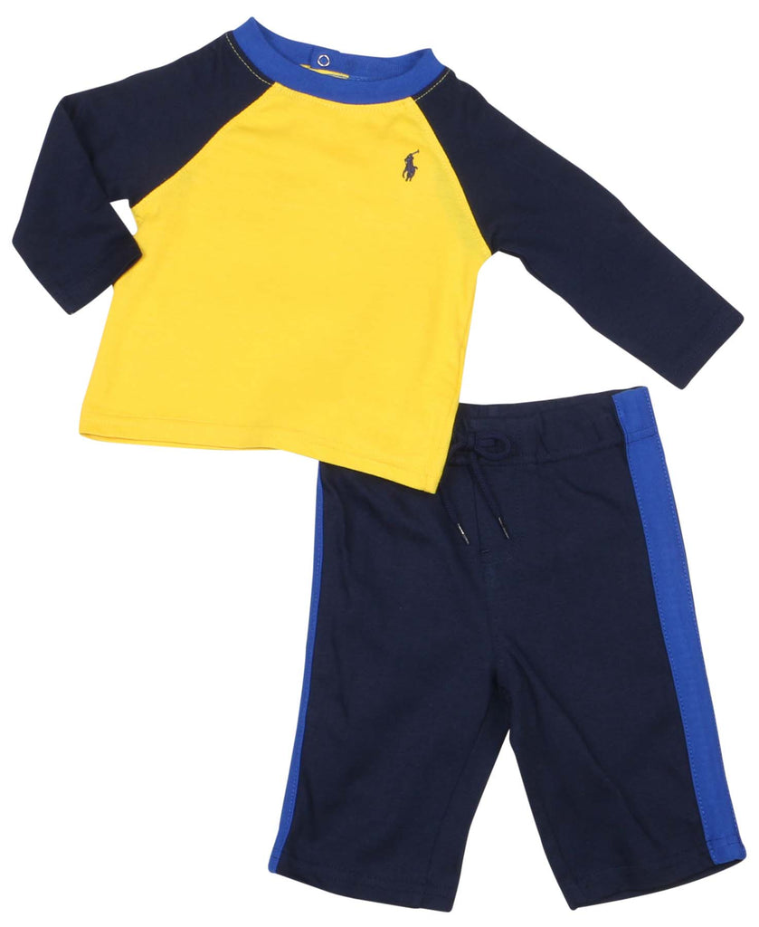 Yellow/Navy Blue