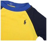 Polo Ralph Lauren Infant Boys' (3M-24M) Baseball Set-Yellow/Navy Blue