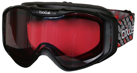 Bolle Adult Unisex UV Protection Snow Goggles-Black-One Size