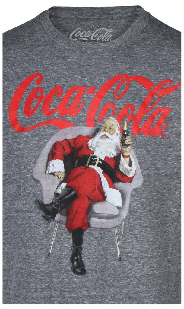 9 Crowns Essentials Men's Licensed Santa Soda T-Shirt