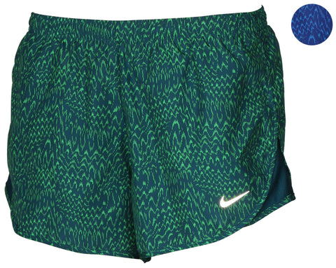 Nike Women's Dri-Fit Allover Print Tempo Running Shorts
