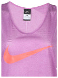 Nike Women's Dri-Fit City Cool Swoosh Running Tank Top-Purple