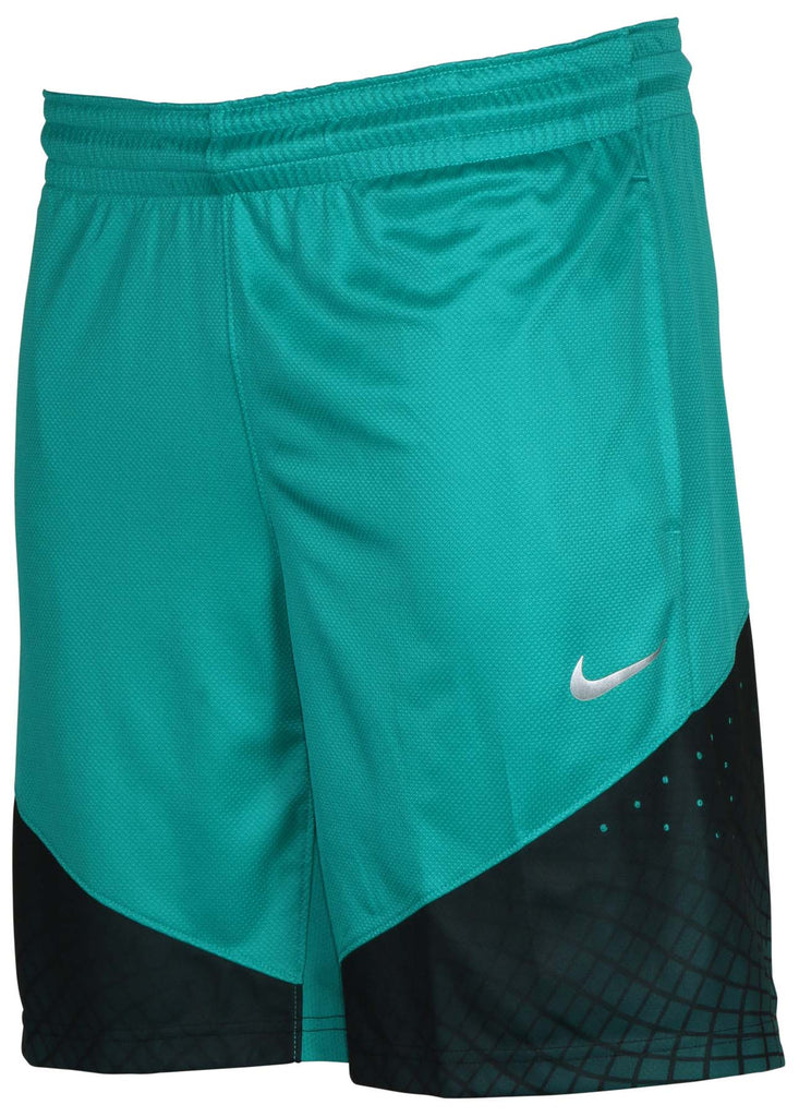 Nike Men's Dri-Fit Elite Matrix Basketball Shorts-Teal