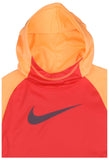 Nike Big Girls' (7-16) Dri-Fit Thermal Pullover Training Hoodie-Hyper Orange