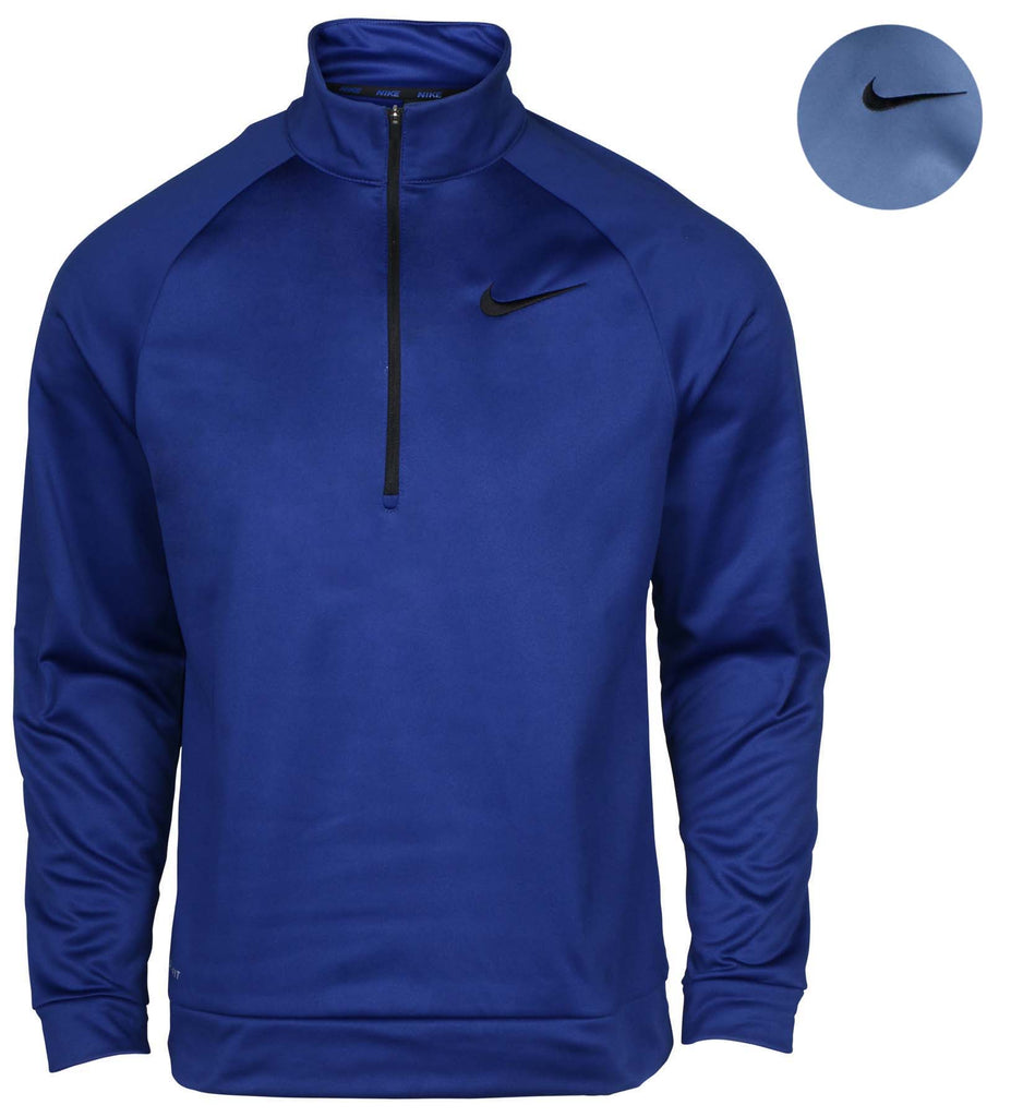 Nike Men's Dri-Fit Therma 1/4 Zip Long Sleeve Training Top