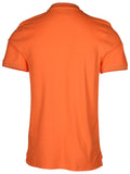 Nike Men's Dri-Fit Solar Fade Blade Golf Shirt-Tangerine
