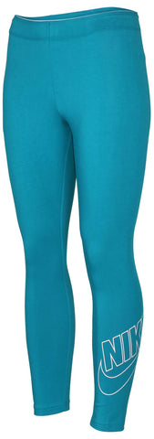 Nike Women's Club Futura Cropped Leggings-Blustery
