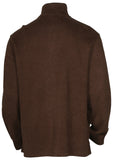 Polo Ralph Lauren Men's French Ribbed 1/2 Zip Pony Sweater