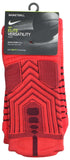 Nike Men's Elite Versatility Dri-Fit Cushioned Crew Basketball Socks