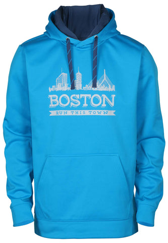 The North Face Men's Boston Surgent Pullover Hoodie-Hyper Blue