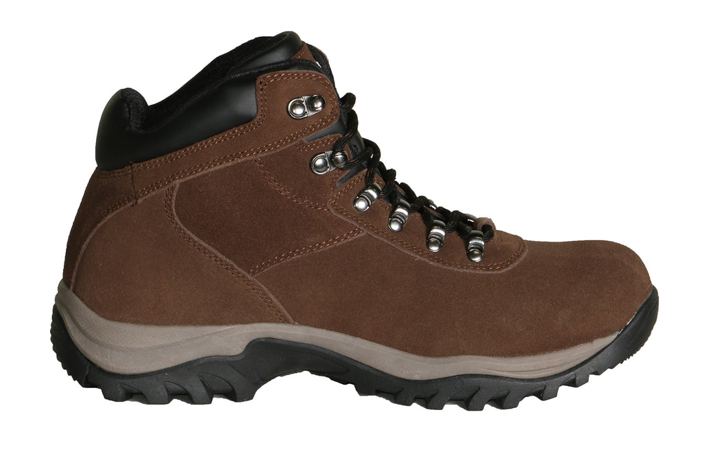 True North Men's Stowe Mid Hiking Boots-Brown/Black