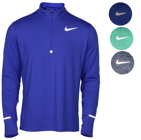 85881810a4 Nike Men s Dri-Fit Element 1 2 Zip Running Top