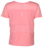 Nike Women's Dri-Fit City Core Running Shirt-Coral