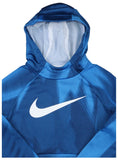 Nike Big Boys' (8-20) Therma Legacy Pullover Training Hoodie-Signal Blue