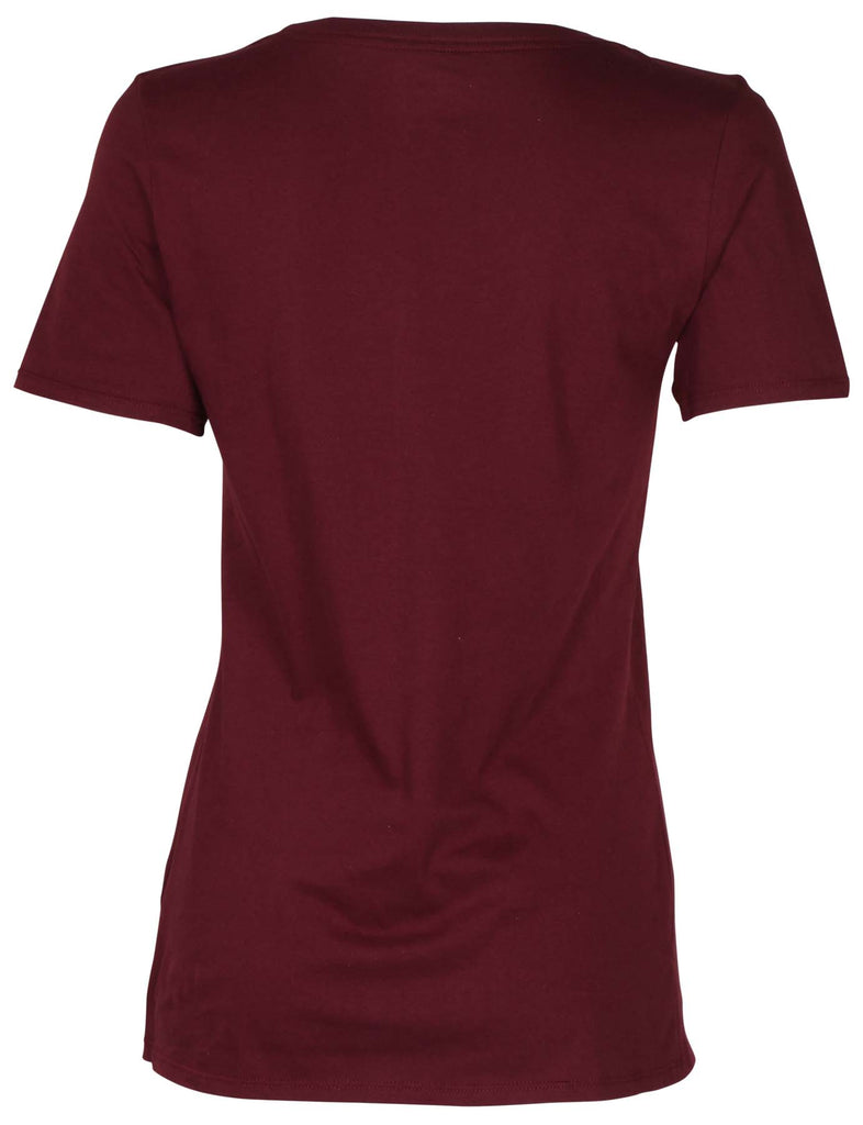 Nike Women's Days Of The Week Graphic T-Shirt-Maroon