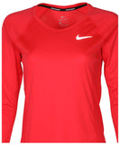 Nike Women's Dri-Fit Long Sleeve Miler Running Top