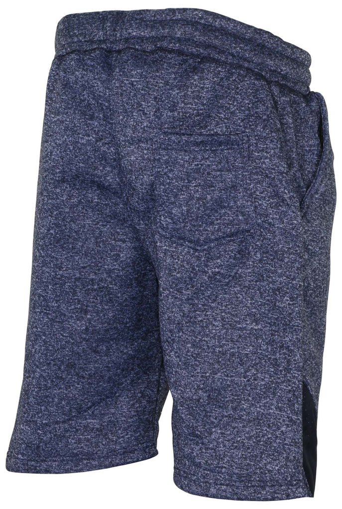 True Rock Men's Jackson Marled Fleece Casual Shorts