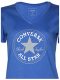 Converse Women's Chuck Taylor Core Patch V-Neck T-Shirt