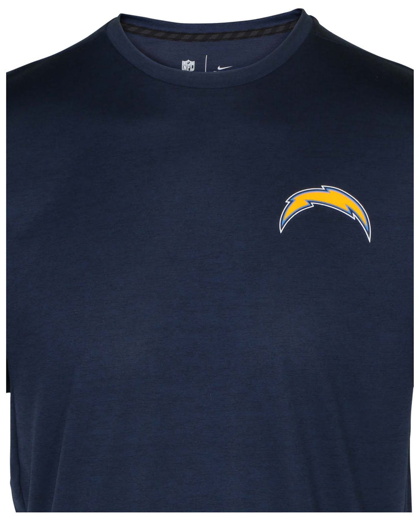 Nike Men's Dri-Fit NFL Los Angeles Chargers T-Shirt-Navy