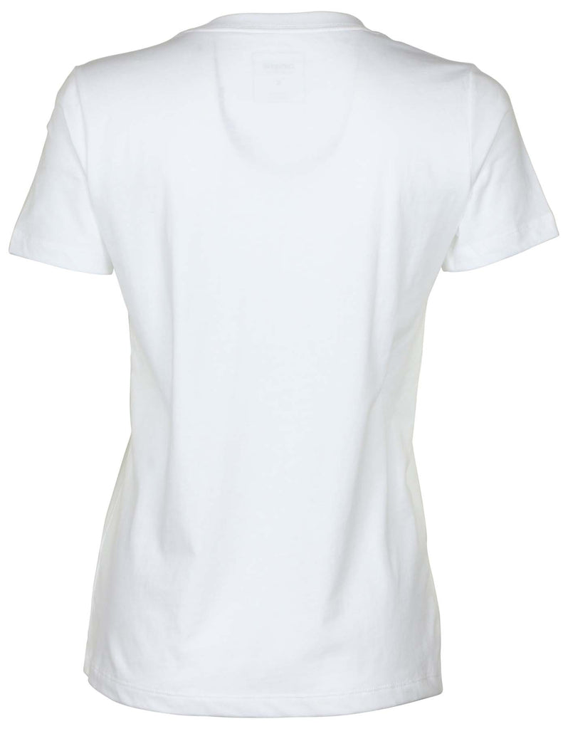 Converse Women's Photo Chucks Up Crew T-Shirt-White