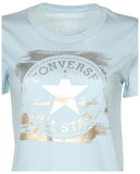 Converse Women's Metallic Core Patch Chuck Taylor T-Shirt